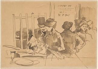 Edouard Manet, The Railway Restaurant, c. 1879