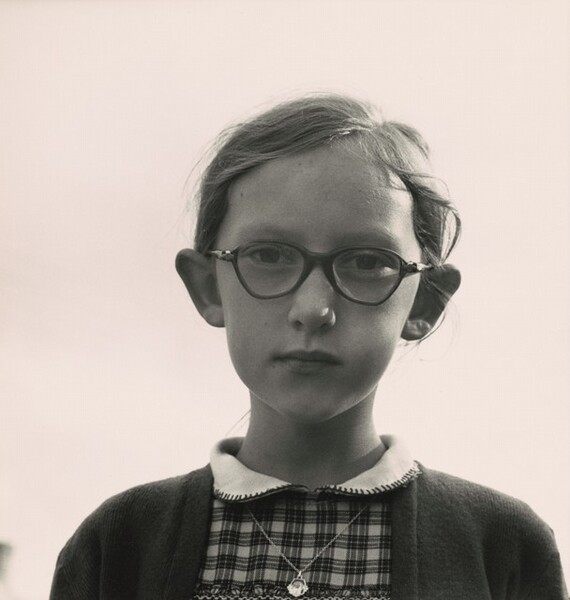 A young girl in Ennis, County Clare, Ireland