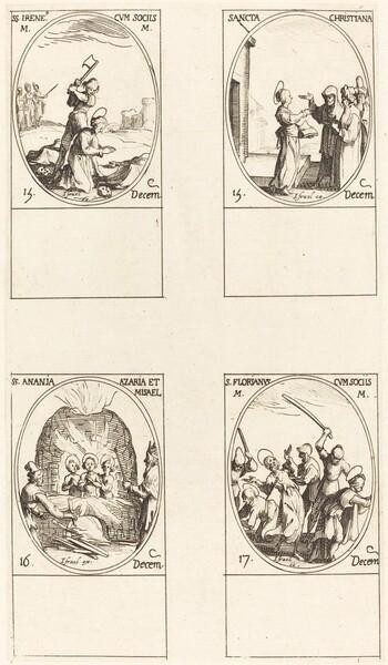 St. Bibiana; St. Birinus; St. Barbara; St. Sabbas