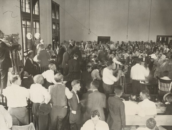 Opening Day of Scopes Trial