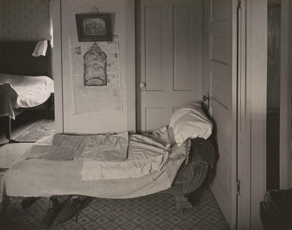 View into Bedroom, Ed