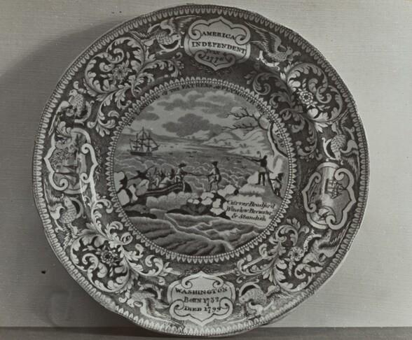 Plate - Landing of the Pilgrims