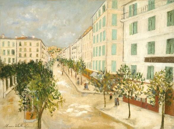 Street at Corté, Corsica