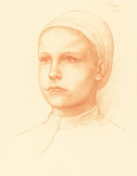 Young Peasant (Jeune paysanne)