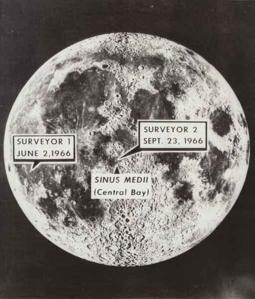 Man in Moon Target for Surveyor 2