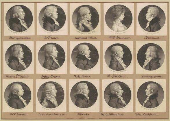 Saint-Mémin Collection of Portraits, Group 16