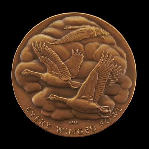 God Made Every Winged Fowl [reverse]