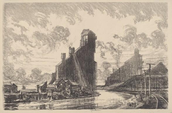 Coal Breaker on the River