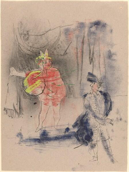 Cyrano and a Clown