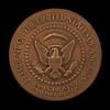 John Fitzgerald Kennedy Inaugural Medal [reverse]
