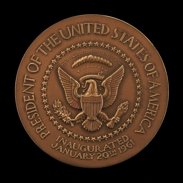 John Fitzgerald Kennedy Inaugural Medal [reverse]