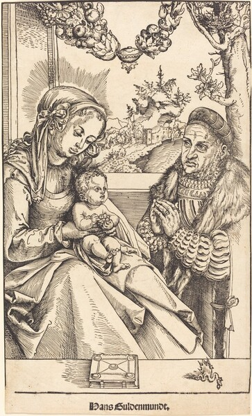 The Virgin and Child Adored by Frederic the Wise of Saxony