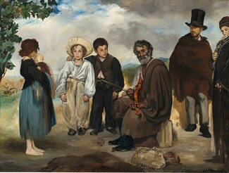 Edouard Manet, The Old Musician, 18621862