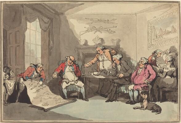 A Militia Meeting
