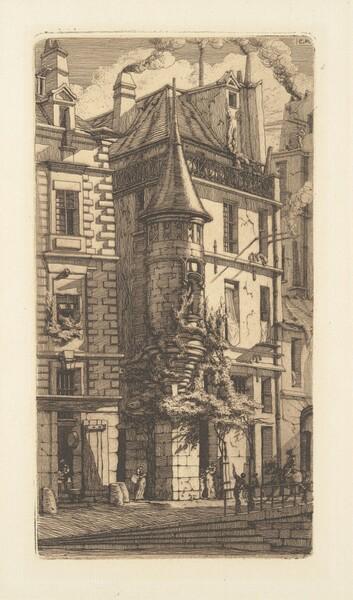Tourelle, Rue de la Tixeranderie