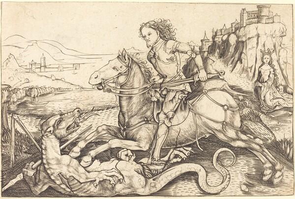 Saint George and the Dragon
