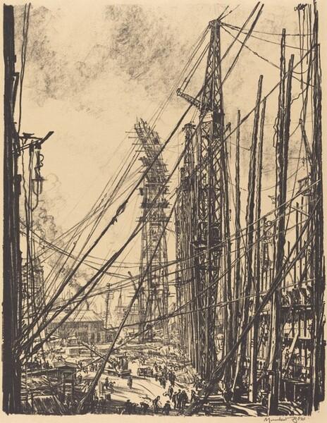 A Ship Yard
