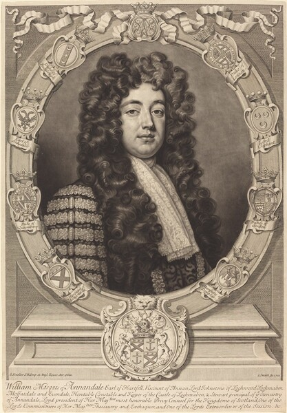 William Johnston, Marquess of Annandale
