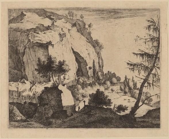 Rocky Landscape with Fir: pl.4