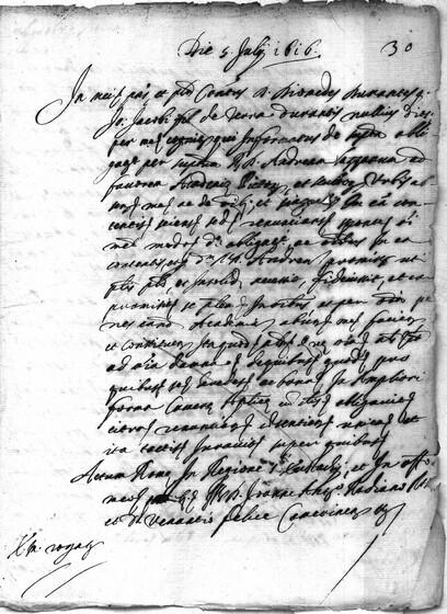 ASR, TNC, uff. 15, 1616, pt. 3, vol. 69, fol. 30r