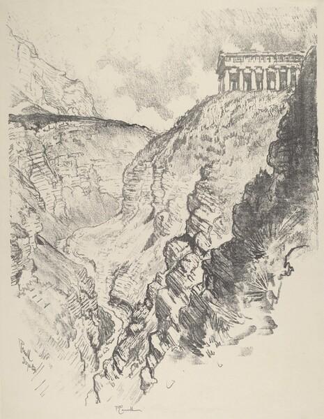 Temple over the Canon, Segesta