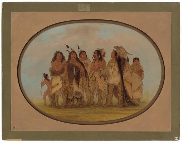 Distinguished Crow Indians