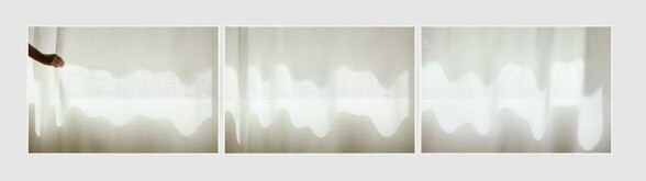 ...and to draw a bright white line with light (Untitled 11.5)