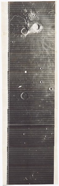 Lunar Orbiter, High Resolution, LOIV H-150