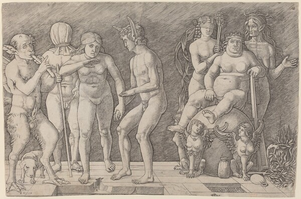 Virtus Combusta: An Allegory of Virtue