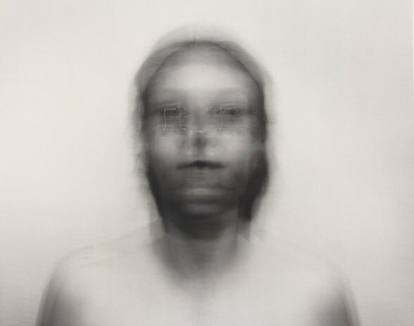 Self-Portrait: Square motion, small