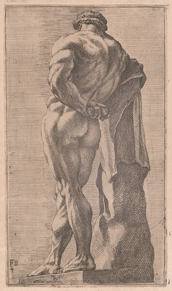 The Farnese Hercules, seen from behind [plate 4]