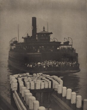 image: After Working Hours—The Ferry Boat