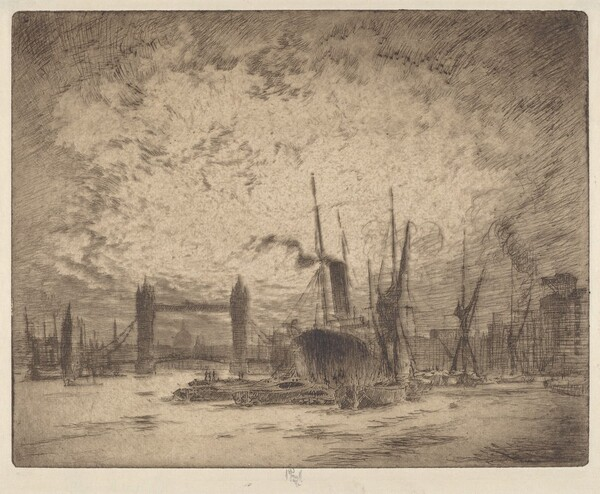Tower Bridge, Evening