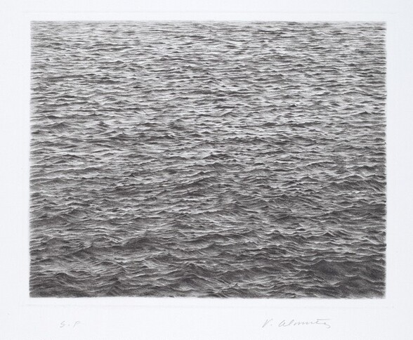 Drypoint—Ocean Surface (Second State)
