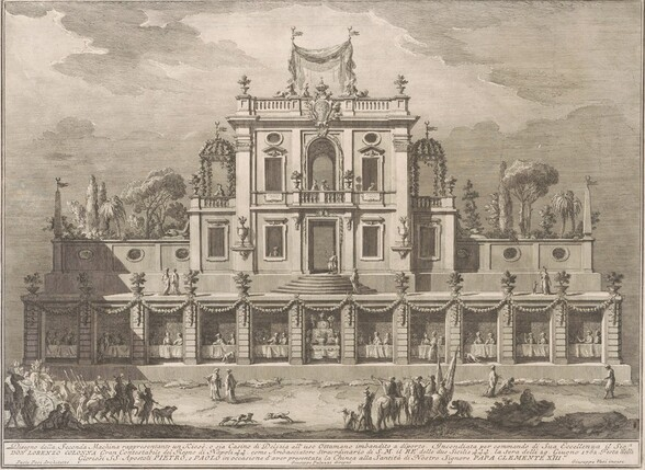 The Seconda Macchina for the Chinea of 1762: A Kiosk, or Pleasure-House in Ottoman Style