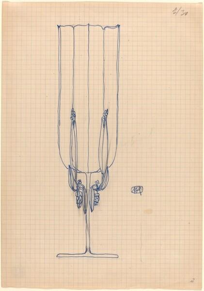 Design for a Stemmed Object (Glass or Goblet?)