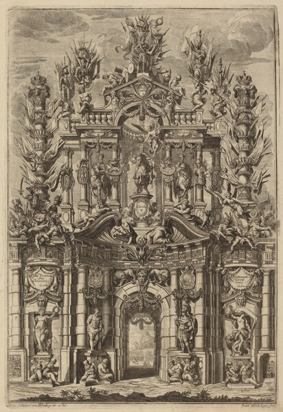 Triumphal Arch for Charles V