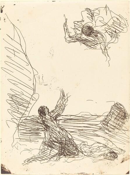 Hagar and the Angel (Agar et l