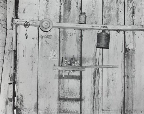 Kitchen Wall, Alabama Farmstead, 1936
