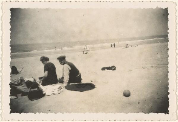 Untitled (Couple on beach)