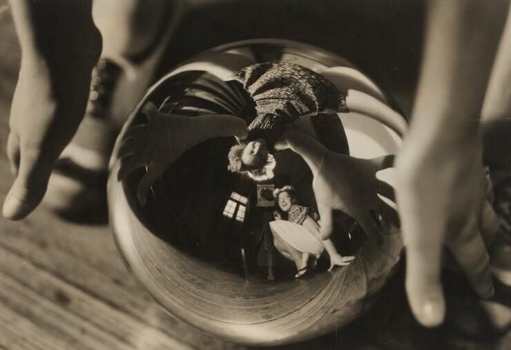 Annemarie Heinrich, Autorretrato con Ursula (Self-Portrait with Ursula), 1938