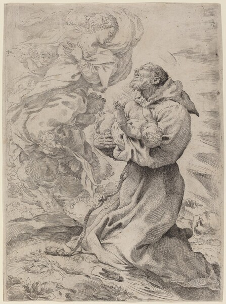 Saint Francis with the Christ Child
