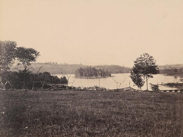 Lake View, near Waymart, Del. & Hudson Canal Co.