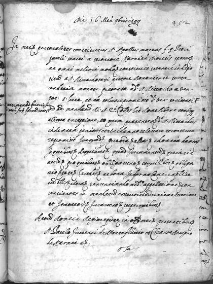 ASR, TNC, uff. 11, 1599, pt. 4, vol. 44, fol. 452r