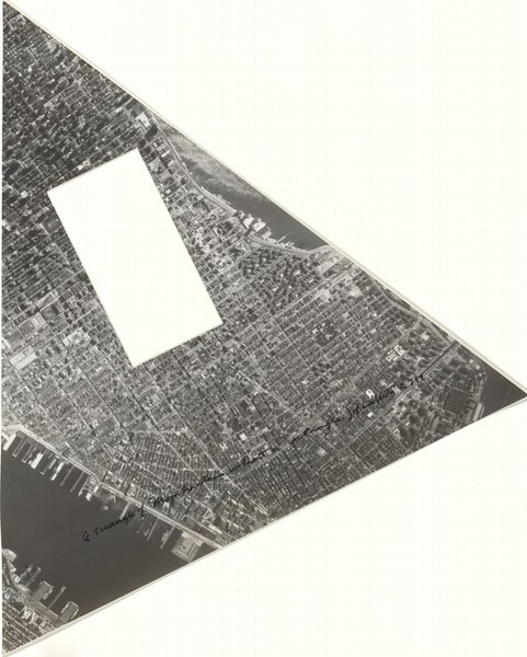 A Triangle of Manhattan without a Rectangle