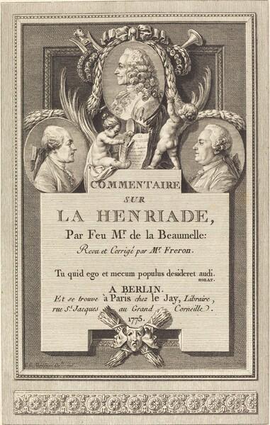 Commentaire sur la Henriade