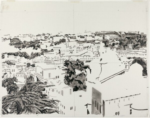 Drawing for View of Rome