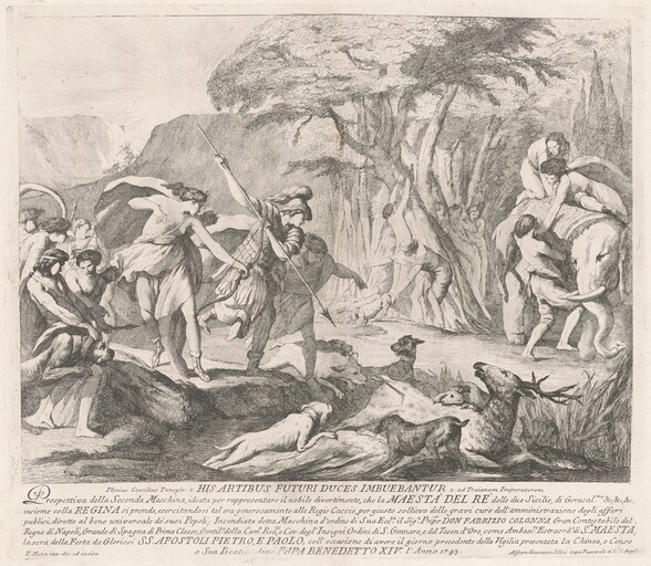 The Seconda Macchina for the Chinea of 1743: The Royal Hunt