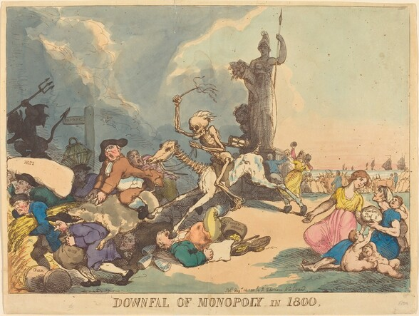 Downfall of Monopoly in 1800