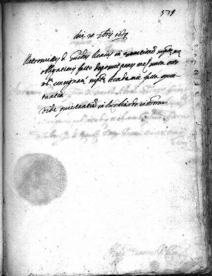 ASR, TNC, uff. 15, 1609, pt. 2, vol. 45, fol. 579r